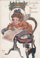 CPA (illustrateur)  HELEN B GAY Je Suis Toujours Gentille Du 25 Au 31 Decembre - Künstlerkarten