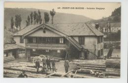 PONT DE ROIDE - Scierie NAPPEY - Francia