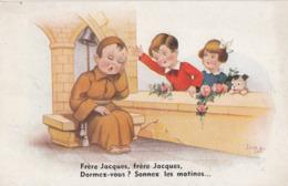 CPA (illustrateur)  JIM PATT Freres Jacques Dormez Vous - Künstlerkarten