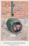 CPA (illustrateur)  F GILSON L Embusqué A L Abri - Künstlerkarten