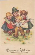 CPA (illustrateur)   MARIAGI Bonne Fete - Künstlerkarten