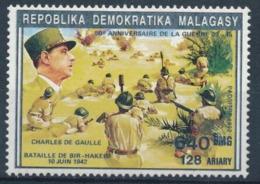 Madagascar Charles De GAULLE MNH - De Gaulle (General)