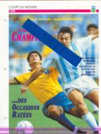 Fiche Football 25 X 18,5 Cm 2 Scans ARGENTINE BRESIL ARGENTINA BRAZIL OLARTICOCHEA RICARDO GOMEZ - Fútbol