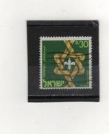 ISRAEL    1968  Y.T. N° Scouting  Oblitéré - Israel