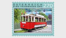 Austria 2019 - 125 Years Of The Gmunden Tramway  Mnh - 1945-.... 2ª República