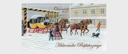 Austria 2019 - Royal And Imperial Express Mail - The Mariahilf Line - Miniature Sheet - 1945-.... 2ª República