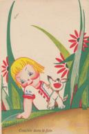 CPA (illustrateur)   BEN Couché Dans Le Foin Avec Un Petit Chien Comme Temoin - Künstlerkarten