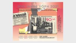 Austria 2019 - 100 Years Of Women's Suffrage In Austria - Miniature Sheet - 1945-.... 2ª República