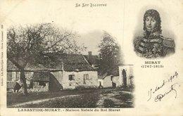 CPA Le Lot Illustre - Labastide-Murat - Maison Natale Du Roi Murat (123015) - France