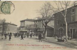 VALREAS Rond-Point Des Cours Saint-Antoine Et Du Bertheuil 1905/20 - Valreas