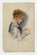 "Alice Luello Fidler 1913y ""American Girl No 23""    D116 - Künstlerkarten"