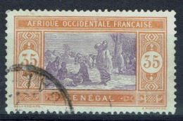 Senegal (French Colony), 35c., African Market, 1914, VFU - Used Stamps
