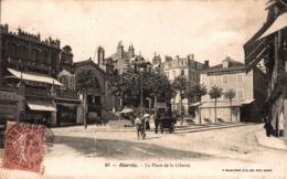 9822-2019         BIARRITZ    PLACE  DE LA LIBERTE - Biarritz