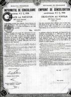 Royaume De Roumanie: 4 1/2% Emprunt De Consolidation De 1934 - Sin Clasificación