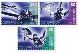 Austria 2019 - Sport And Air Stamp Set Mnh - 1945-.... 2ª República