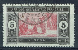 Senegal (French Colony), 5c., African Market, 1922, VFU - Used Stamps