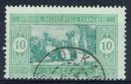 Senegal (French Colony), 10c., African Market, 1922, VFU - Used Stamps