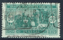 Senegal (French Colony), 20c., African Market, 1922, VFU - Used Stamps