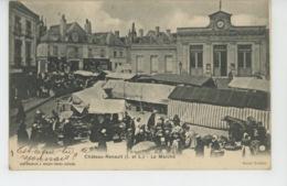 CHATEAURENAULT -  Le Marché - Andere Gemeenten