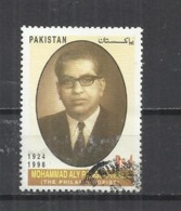 PAKISTAN 2002 -  MOHAMMAD ALY RANGOOONWALA, PHILANTROPIST -  USED OBLITERE GESTEMPELT USADO - Pakistan