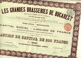 LES GRANDES BRASSERIES De BUCAREST - Unclassified