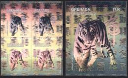 MDA-BK26-601 MINT ¤ GRENADA & GRENADINES KOMPL. SET ¤ SILBER ZILVER  - YEAR OF THE TIGER - LUNAR NEW YEAR - Game