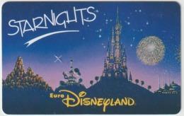 DISNEY :euro   Disneyland  ,, Paris ,  STARNIGHTS  Passeport - Toegangsticket Disney