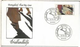 ALEMANIA FDC BONN FRIEDLANDHILFE REFUGIADOS - Briefe