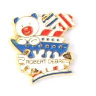 Pin's Hôpital Universtaire ROBERT DEBRE - Le Logo - Ourson Sur Un Paquebot - Cod - I729 - Geneeskunde