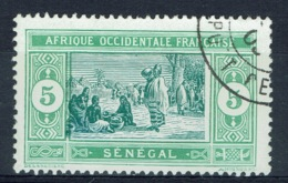 Senegal (French Colony), 5c., African Market, 1914, VFU - Used Stamps