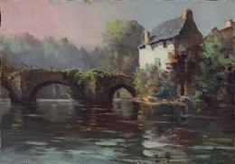 Dep 29 , Cpm QUIMPERLE , Le Pont Fleuri , I.K. 34  (12267) - Quimperlé