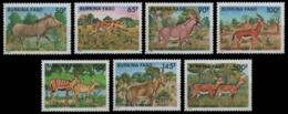 MDA-BK26-602 MINT ¤ BURKINA FASO 1986 7w In Serie ¤ WILD ANIMALS - Game
