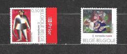 Zegels 3430 - 3431 ** Postfris - Belgique