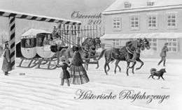 Austria 2019 - Royal And Imperial Express Mail - The Mariahilf Line Black Proof Mnh - 1945-.... 2ª República