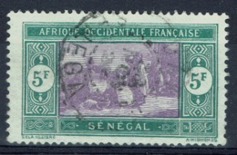 Senegal (French Colony), 5f., African Market, 1914, VFU - Used Stamps