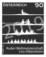 Austria 2019 - Rowing World Championships In Linz-Ottensheim Black Proof Mnh - 1945-.... 2ª República