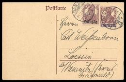 1920, Danzig, P 5, Brief - Dantzig