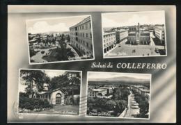COLLEFERRO - SALUTI & VEDUTINE 1961 - Other Cities