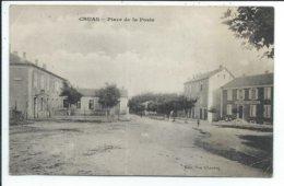 Cruas Place De La Poste,voir état - Autres Communes