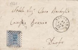 Un Annullo Per Paese Nigoline (Brescia) Numerale A Punti - 1878-00 Umberto I