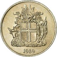 Monnaie, Iceland, 5 Kronur, 1969, SUP, Copper-nickel, KM:18 - Islande