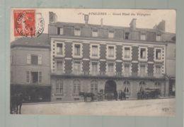 CPA - 35 -  Fougères - Grand Hôtel Des Voyageurs - Fougeres