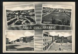 COLLEFERRO - SALUTI & VEDUTINE 1962 - Other Cities