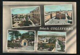 COLLEFERRO - SALUTI & VEDUTINE 1960 - Other Cities
