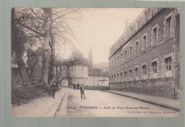 CPA - 35 -  Fougères - Ecole De Notre-Dame-des-Marais - Fougeres