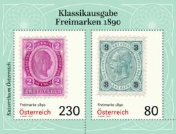 Austria 2019 - Freimarken 1890 Miniature Sheet Mmh - 1945-.... 2ª República