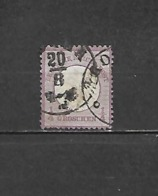1872 - N. 1 USATO (CATALOGO UNIFICATO) - Deutschland