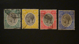 Tanganyika - 1927 - Mi:TZ-TN 82-4,86 - Yt:TZ-TN 25-7,29 O - Look Scan - Tanganyika (...-1932)