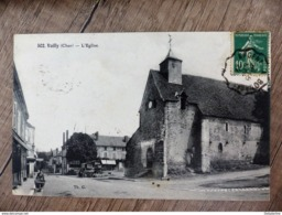 CPA VALLY L Eglise CHER 18 - France