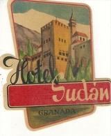 Etiquette D'Hotel : Hotel Soudan Granada - Etiquettes D'hotels